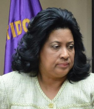 Cristina Lizardo, Senadora