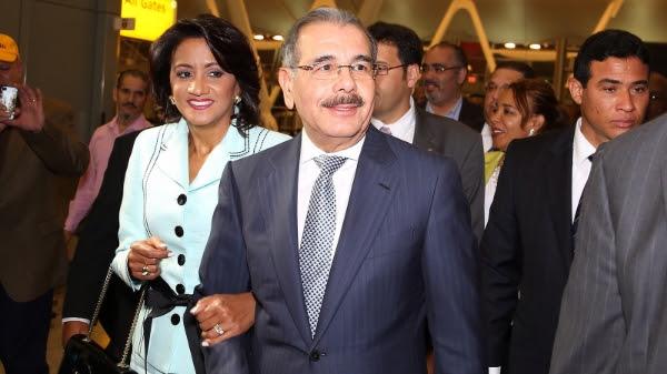 Danilo Medina llega a Nueva York