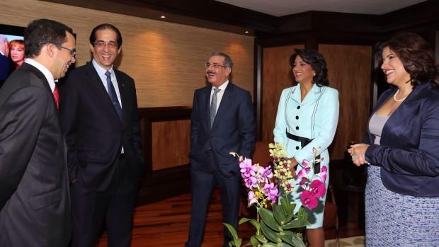 Danilo Medina previo a su salida a Nueva York.