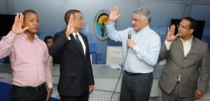 Miguel Vargas juramenta