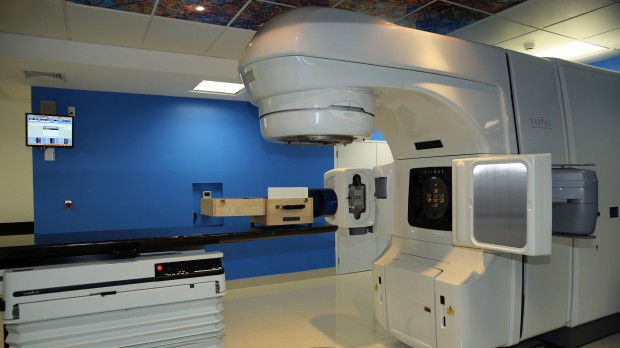 Centro de radioterapia modular.