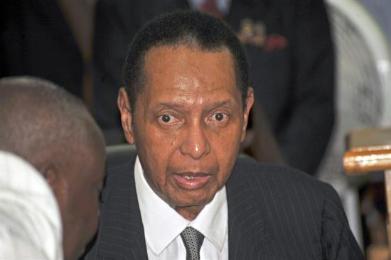 El expresidente haitiano Jean Claude Duvalier.