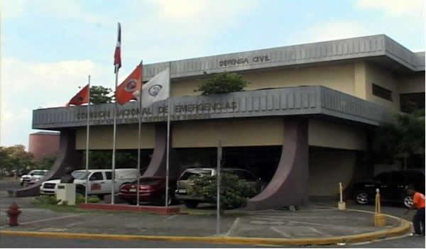 Fachada del Centro de Operaciones de Emergencias -COE- 1