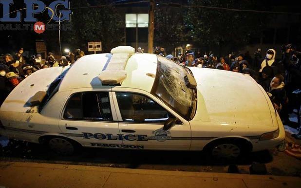 Patrulla policial estadonidense