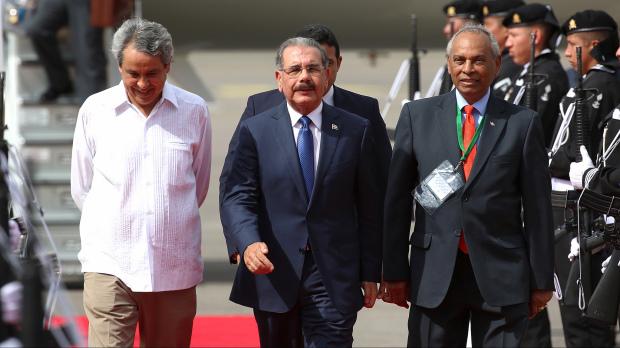 Presidente Danilo Medina llega a Veracruz