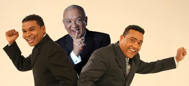 Raymond Pozo,  Jochy Santos y Miguel cespedes