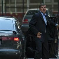 El fiscal argentino Gerardo Pollicita llega a la Corte Federal en Buenos Aires, el 13 de febrero de 2015. Pollicita reemplaza al fiscal argentino Alberto Nisman, quien fue encontrado muerto en su casa.