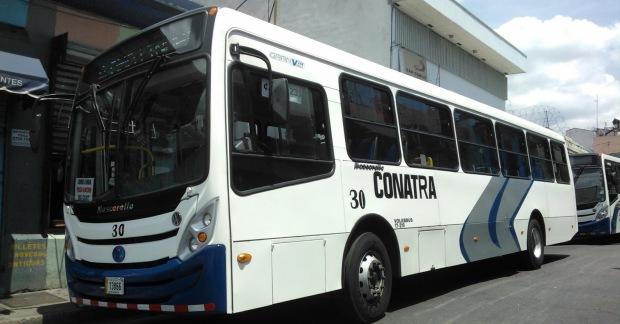 Guagua de CONATRA.