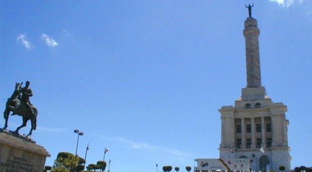 Monumento de Santiago de los Caballeros.