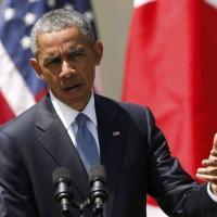 El presidente de Estados Unidos, Barack Obama, durante una conferencia de prensa en la Casa Blanca en Washington, 28 de abril de 2015. Para Obama, los disturbios en Baltimore .