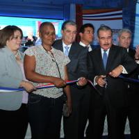 Presidente Danilo Medina inaugura estancia infantil.