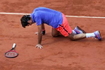 Roger Federer eliminado por Wawrinka en Roland Garros.