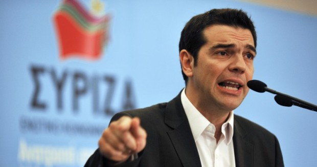 Alexis Tsipras, Grecia