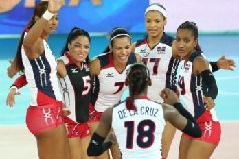 Voleibol femenino de RD gana segundo partido en Panamericanos.