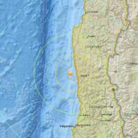 Alerta de tsunami en Chile tras sismo de magnitud 7,9