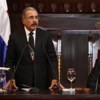 Presidente Medina dice siempre trabajaremos por los intereses del pueblo dominicano