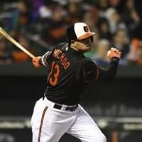 Manny Machado de los Orioles de Baltimore