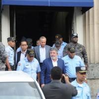 Llegan a la Suprema Corte de Justicia acusados en caso Odebrech.